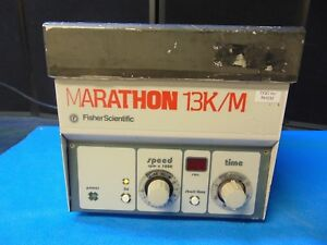 Fisher Scientific Marathon 13k m Micro Centrifuge Powers On And Spins Rh232x