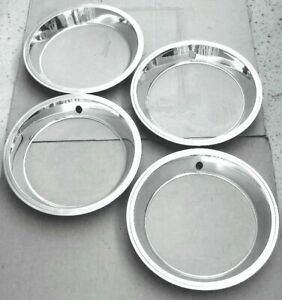 4 1967 Corvette Factory Trim Rings For Dc Wheels Excellent Survivors