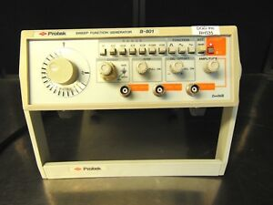 Protek B 801 Sweep Function Generator Tested With Power Supply Rh535x