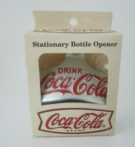 Vintage Coca-Cola Bottle Opener Starr X BROWN CO USA # 21 W Box - FREE SHIPPING