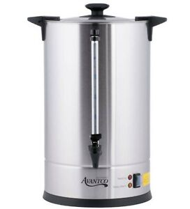 Avantco Coffee Machine Urn Brewer 110 Cup Electric Commercial Warmer Percolator