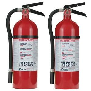 Kidde Fire Extinguisher Rechargeable Pressure Gauge Mounting Bracket 2 pack