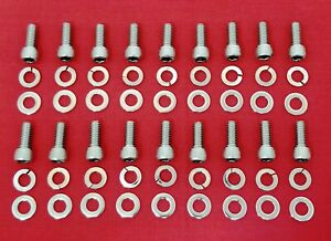 Buick Nailhead 264 322 364 401 425 Engine Oil Pan Bolts Stainless Allen Kit Set