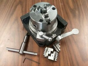 Super Rapid Indexer W 3 3 jaw Chuck Horizontal Vertical Extra Jaws ss 300