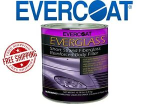Fibreglass Evercoat 622 Everglass Body Filler Gallon New Free Shipping