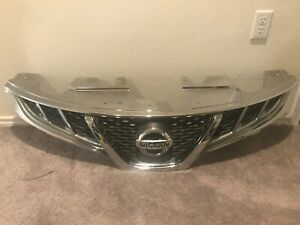 2011 2012 2013 2014 Nissan 11 14 Murano Front Grille P n 62310 1sz0a Oem A2217