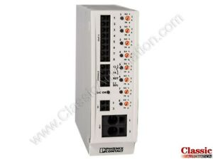 Phoenix Contact 2905744 cbm E8 24dc 0 5 10a No r Device Circ Breaker refurb