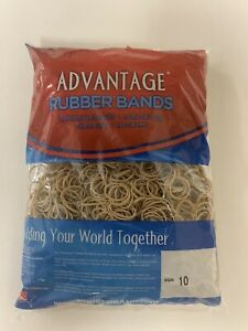 Advantage Rubber Bands Size 10 1 1 4 X 1 16 Heavy Duty Made In Usa