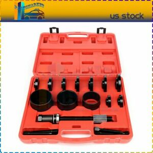 19pcs Front Wheel Drive Hub Bearing Removal Kit Press Adapter Puller Remover