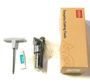 Tungaloy 2 Indexable End Mill Super High Feed Made In Japan