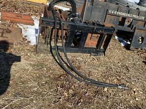Skid Steer Auger Post Hole Digger For Bobcat Deere Cat Jcb Kubota Etc