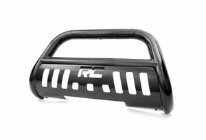 Rough Country Bull Bar Bumper Guard Black For Toyota Tacoma B t2051