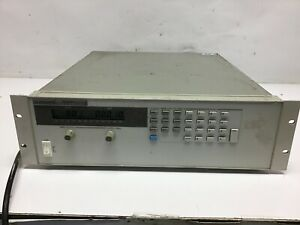 Hp Agilent 6655a 0 120v 0 4a 480 watts Dc Power Supply Hpib Load Tested