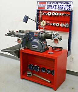Nice Ammco 4100b Disc Drum Brake Lathe W Complete Adapter Kit