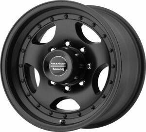 15 American Racing Ar23 15x7 Satin Black 5x5 Truck Wheel 6mm 5 Lug Rim