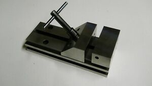 Starrett 581 Precision Grinding Vise Newly Reground Used
