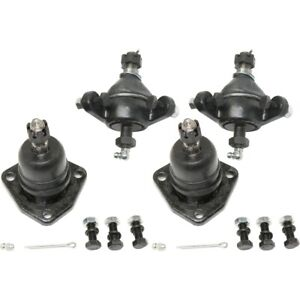 Set Of 4 Ball Joints Front Left and right Upper For Chevy Lh Rh Impala Caprice