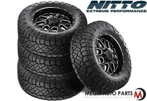 4 Nitto Ridge Grappler Lt285 55r22 124 121q A T All Terrain Lt Truck Mud Tires