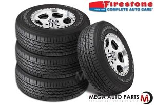 4 Firestone Destination Le2 Le 2 P265 70r16 111t Owl All season Truck Suv Tires