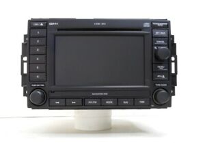 2007 Jeep Grand Cherokee Am Fm Navigation Mp3 Dvd 6 Cd Player Radio Rec Oem