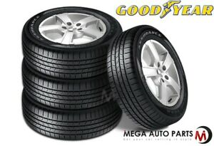 4 Goodyear Assurance 215 60r16 95t 65k Mile All Season Traction Touring Tires