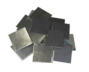 10pc 304 Stainless Steel 2 X 2 16ga 060 Square Metal Sheet Plate Weld Cap