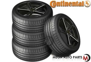 4 Continental Extremecontact Sport 205 50zr15 86w Max Performance Summer Tires