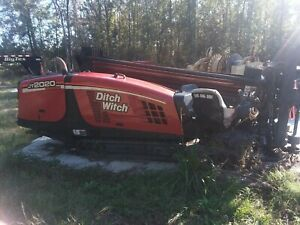 08 Ditch Witch Directional Drill Jt2020 Mud Mixer And 750 Trckr Incl 2703 Hrs