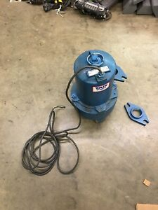 Tait Water Waste Handling Pump Wh10 21 2b 1 Hp 230 V 1 Ph 2 1 2