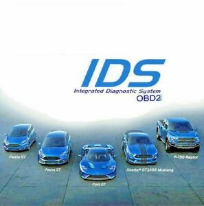 Ids Diagnostic Service Tool For Ford Vcm Vxdiag Vcm2 Scanner Program Vmware