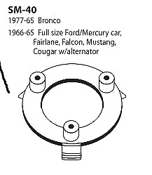 Horn Ring Ford Bronco Ford Mercury Full Size Ford Fairlane Falcon Mustang