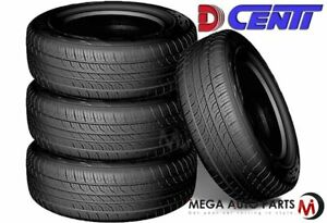 4 Dcenti D8000 205 70r15 97s All Season Performance A S Tires 50k Mile Warranty