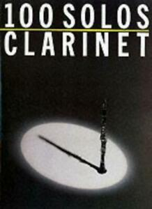 100 Solos Clarinet By De Smet. 9780711903562
