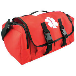 Medsource Polyester Trauma Response Bag red Ms b3303 Red