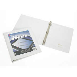 Ability One 7510 01 462 1391 3 ring Binder 1 1 2 white