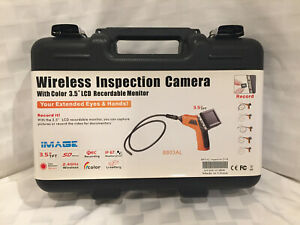 New Wireless Inspection Camera With Color 3 5 Lcd Recordable Monitor No Reserve