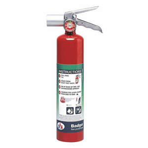 Fire Extinguisher halotron 2 5 Lb bc 2 5hb 2