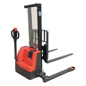 Electric Stacker 2200 Lb 114 Lift Eclm22 114