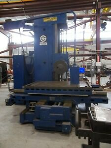 Giddings Lewis Pmc4 Milling Jig Bore Boring Horizontal Drilling Mill 4 Inch 4