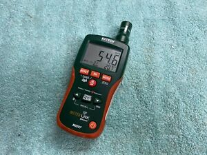 As is Extech Mo297 Pinless Moisture Meter Psychrometer Bluetooth Please Read