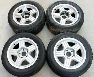 1991 1992 Chevrolet Camaro Z28 Rs Wheel Set Front Rear Rims Used Oem Gm