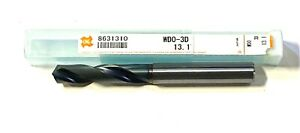 Osg 13 10mm Solid Carbide Drill Coated High Performance Coolant Thru Exocarb