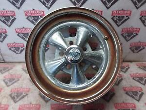 1969 69 Dodge Charger B Body Cragar Steel Wheel 15 Inch Rusted