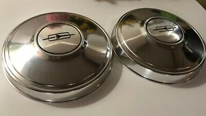 2 Vintage Oldsmobile Plymouth Hubcap Wheel Cover Hub Cap Olds Oem