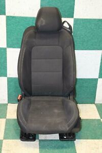 15 17 Mustang Convertible Black Cloth Left Driver Front Seat Power Tracks Oem