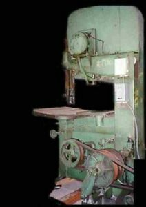 Do All Zephyr Vertical Band Saw