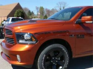 Power Wagon Truck Decals Compatible With Any Truck Graphics Vinyl Stickers X2