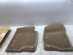 2009 2014 Gmc Truck Denali Oem Front Carpet Floor Mat Piece Gm 19155780