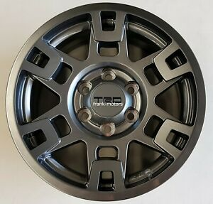 Toyota Fj Cruiser 2007 2014 Trd Pro Sema 17 Gunmetal Grey Alloy Rim Set Oem New