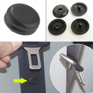 10pair Seat Belt Buckle Buttons Studs Retainer Car Safety Seat Belt Clip Stopper